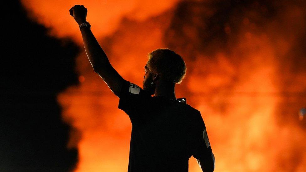 Las protestas sacudieron Atlanta este fin de semana.