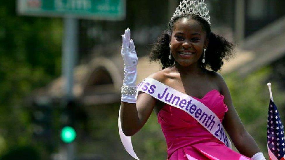Juneteenth se conmemora en diversas partes de Estados Unidos.