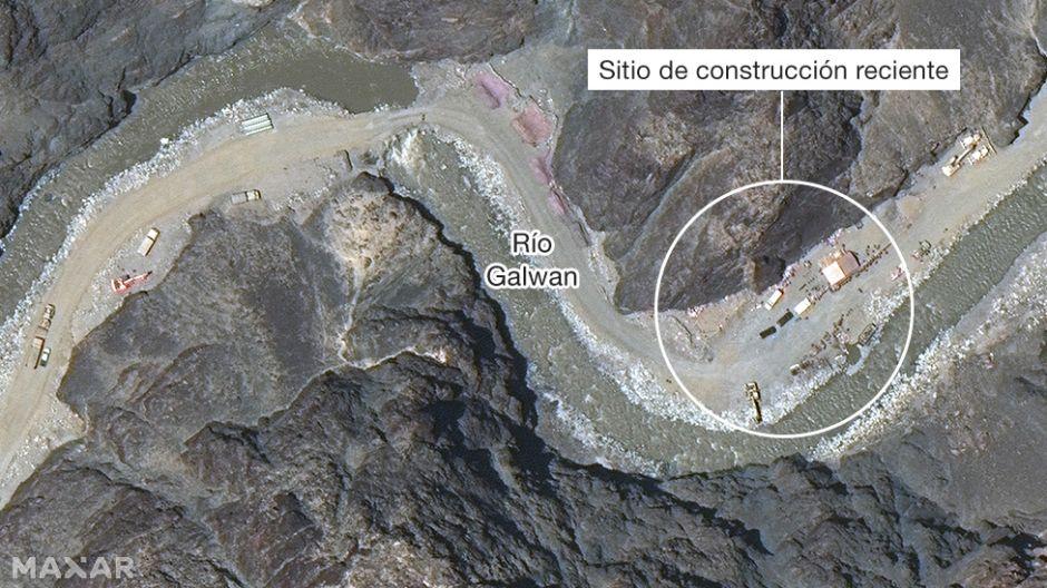 China vs India: las imágenes satelitales que revelan posibles infraestructuras de Pekín en la disputada frontera