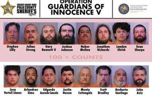 16 acusados en Florida por pornografía infantil poseían videos de niños de menos de un año de edad