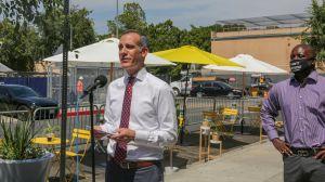 El alcalde Garcetti lanza la segunda fase del programa de Los Ángeles Al Fresco