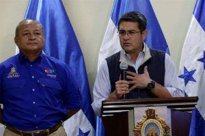 El presidente de Honduras, Juan Orlando Hernández, y su esposa dan positivo a coronavirus