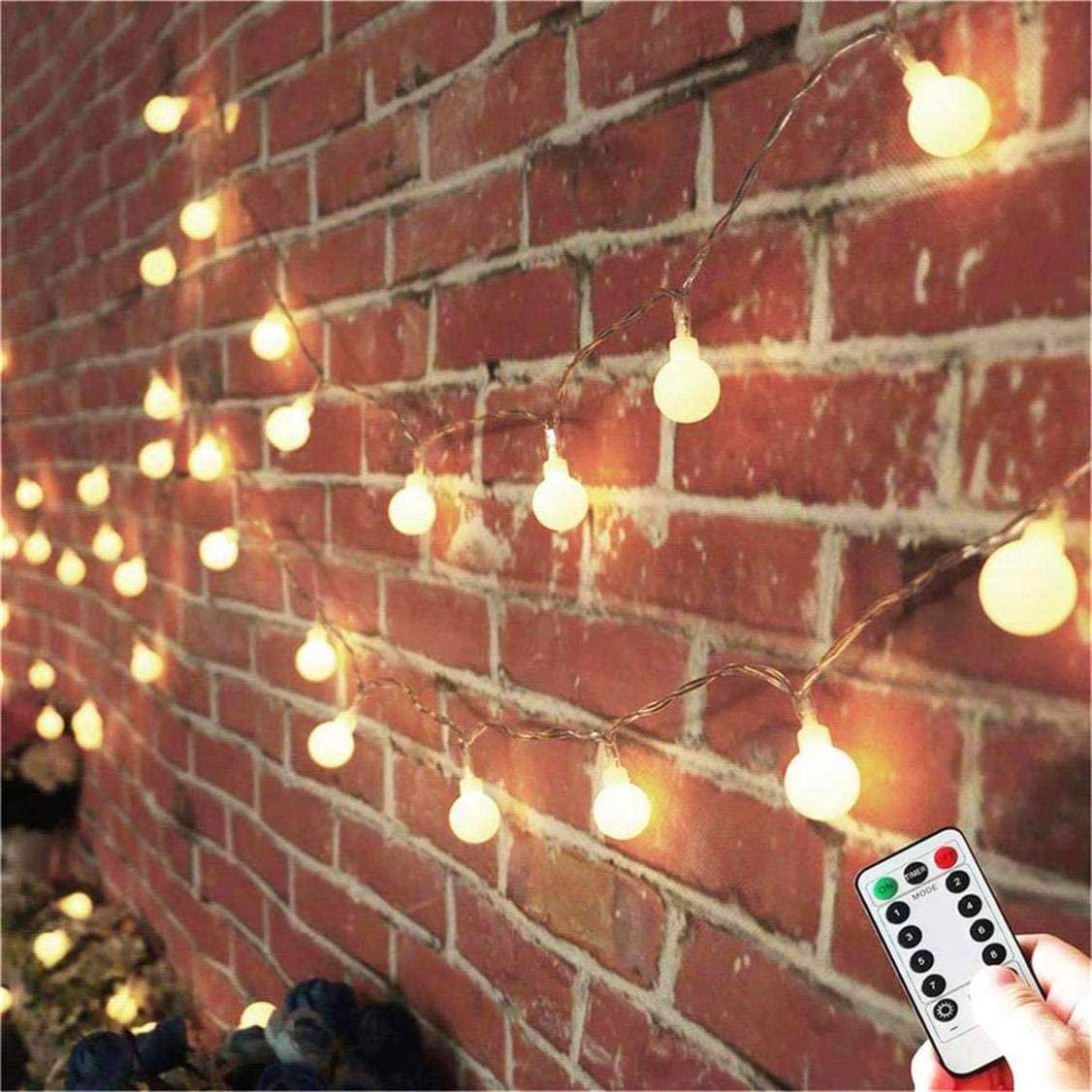 guirnalda luces amazon