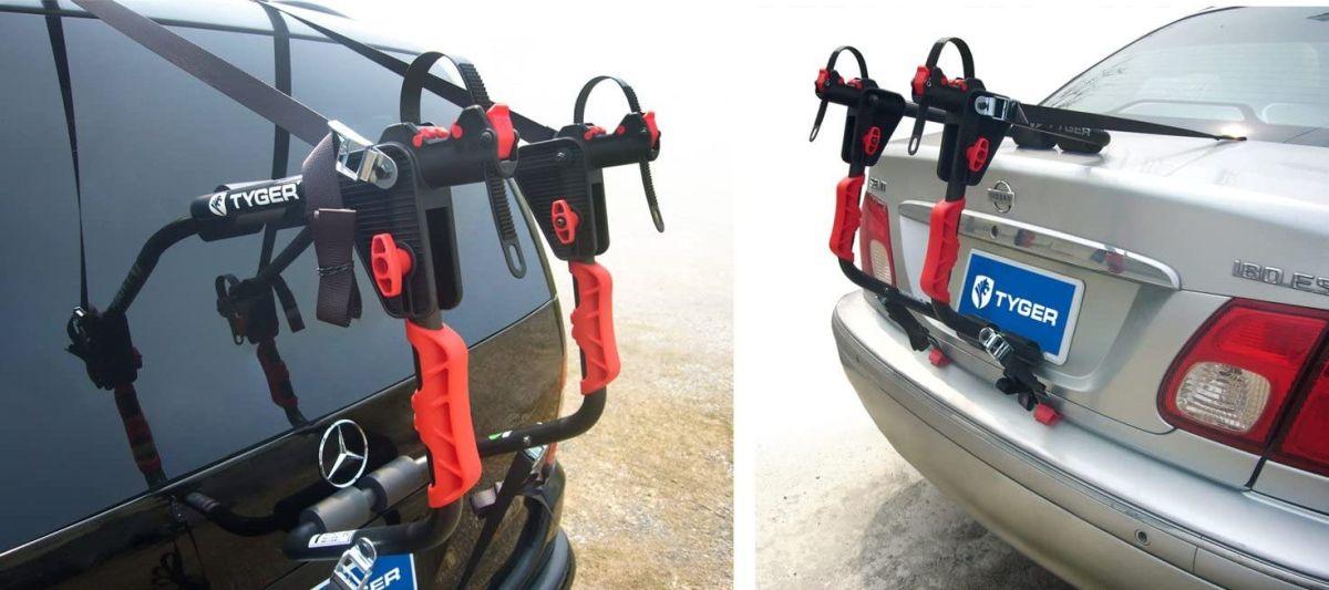 4 soportes para bicicleta que puedes instalar en tu auto fácilmente y sin gastar mucho dinero
