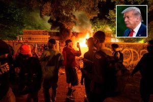 Trump se refugió en búnker de la Casa Blanca durante protestas por la muerte de George Floyd
