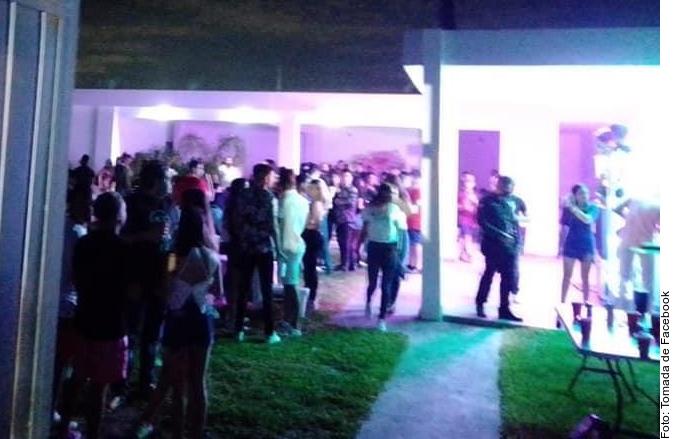 Más de 150 jóvenes detenidos por acudir a fiesta en Nuevo León en plena pandemia