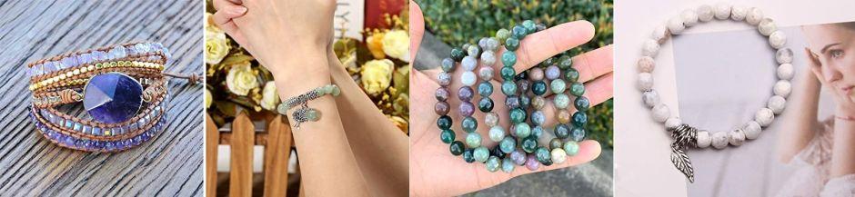 5 pulseras con piedras naturales que te darán buena suerte todo el día