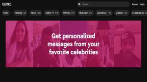 Cameo: El sitio web que permite tener videollamadas con famosos