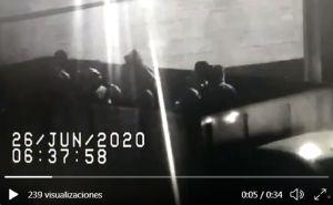 Captan en video atentado del CJNG contra secretario de Seguridad de CDMX