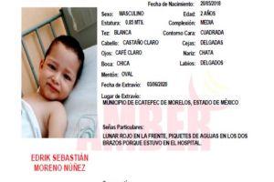 Confirman que cuerpo de bebé pertenece al pequeño Edrik; lo mataron a golpes tras robarlo