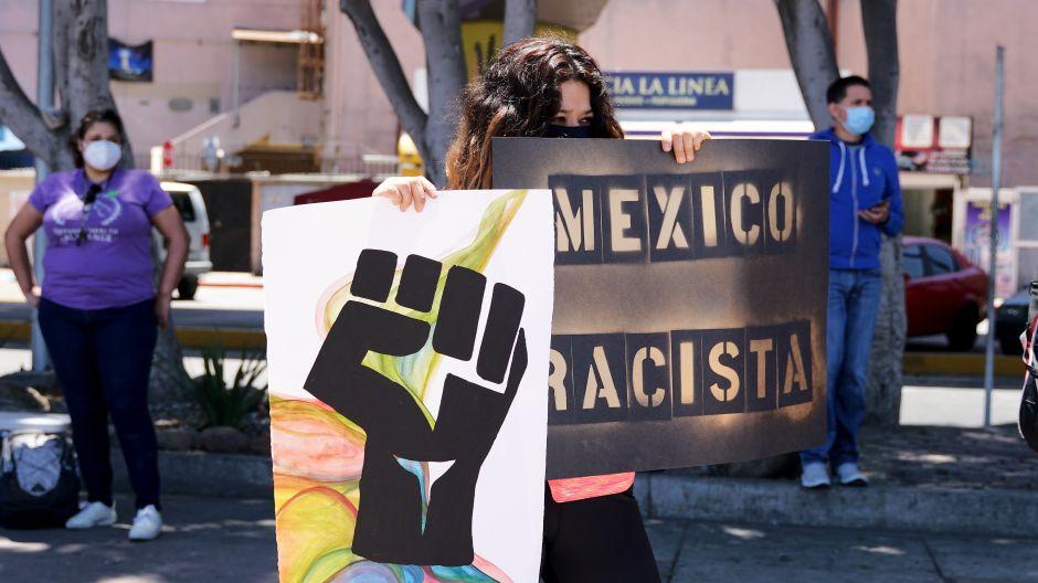 Protesta: Las Vidas Negras Importan también en Tijuana