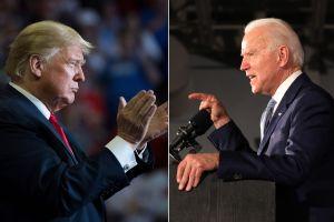 Trump pide a CNN que se disculpe por encuesta en la que Biden lo barre