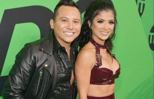 """Kimberly Flores """"toquetea"""" a otro hombre que no es Edwin Luna en su debut como cantante de reguetón"""