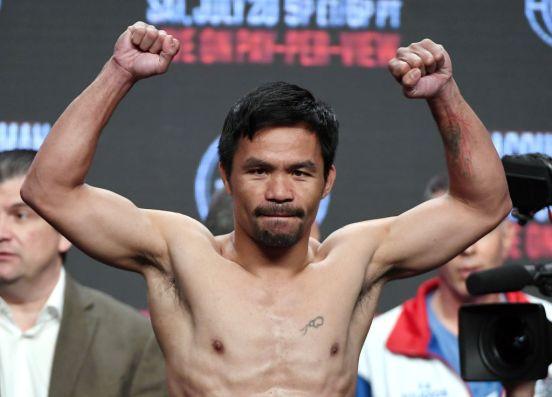 Manny Pacquiao es uno de los boxeadores más sobresalientes de los últimos años.