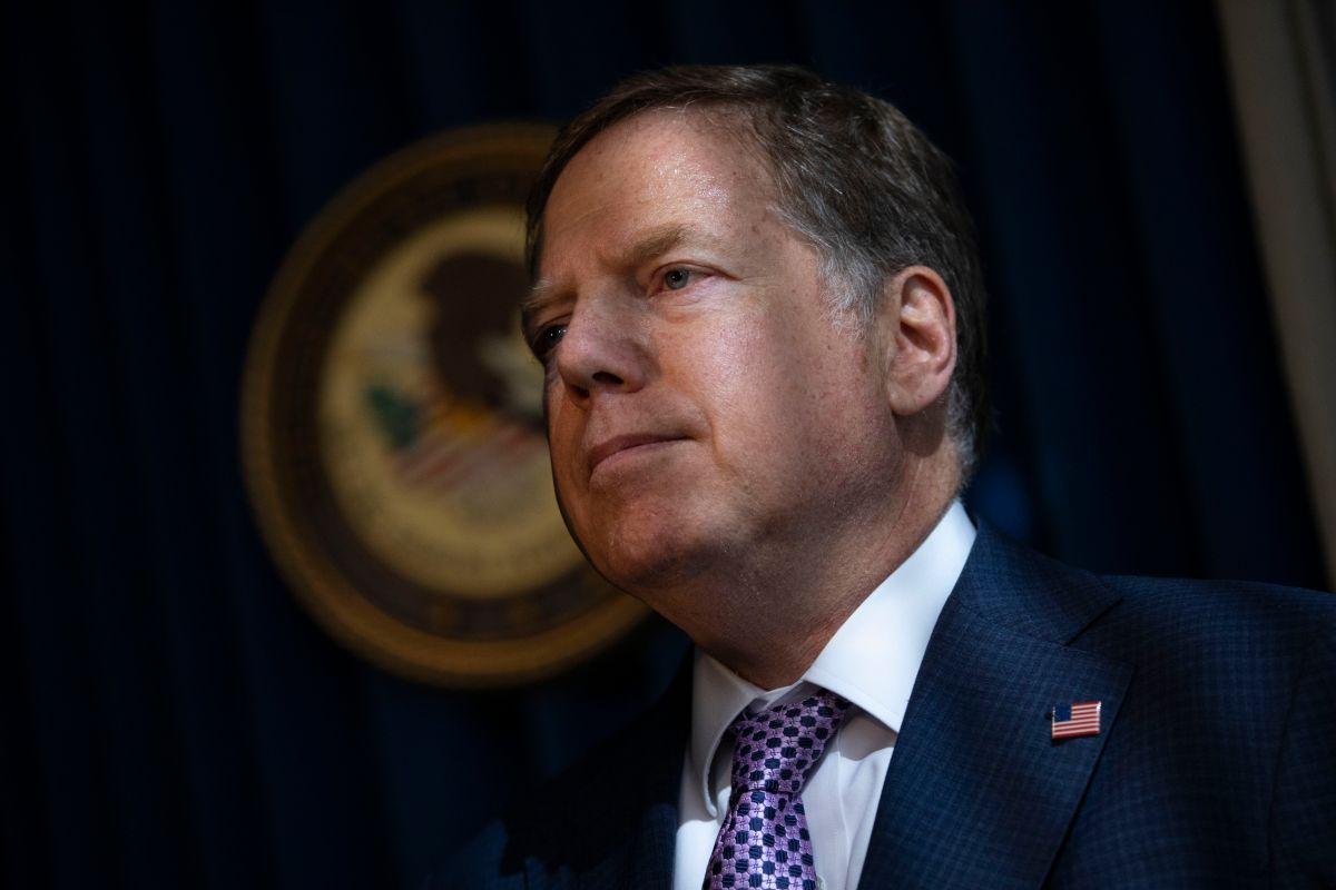 Geoffrey Berman, Fiscal Federal para el Distrito Sur de Nueva York,