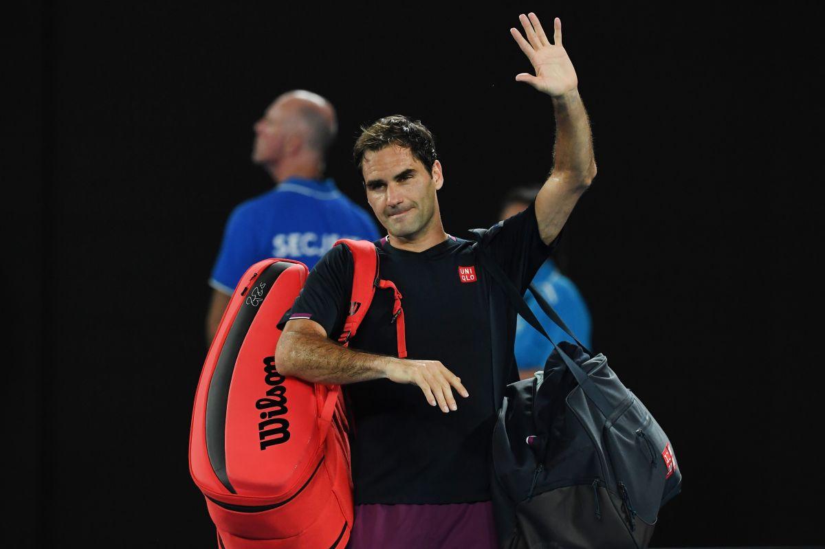 Roger Federer dejará el 2020 con apenas un torneo y seis partidos jugados.