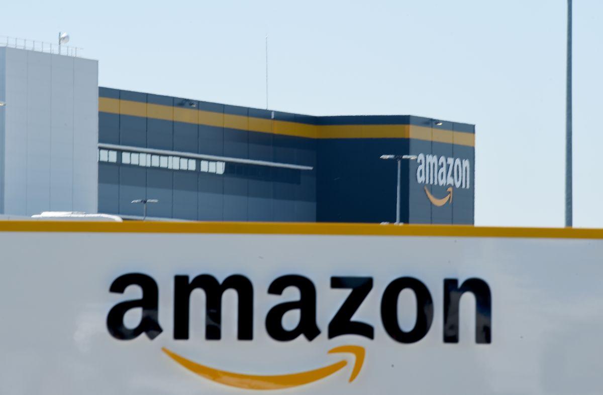 Un centro de operaciones de la gigante tienda en línea Amazon.
