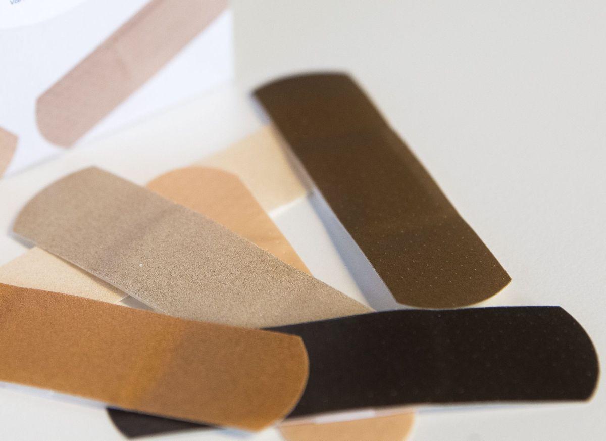 Las cuitas incluirán una amplia gama para diferentes tonos de piel.