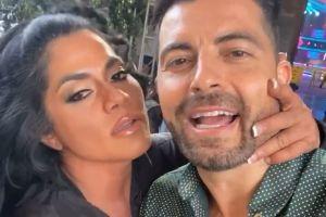 Maripily Rivera y Antonio Santana muy cerca y románticos