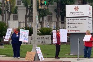 Enfermeros de San Bernardino se quejan de la falta de equipo de protección para trabajar