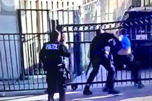 Policía de Los Ángeles es acusado de golpear a un individuo en Boyle Heights