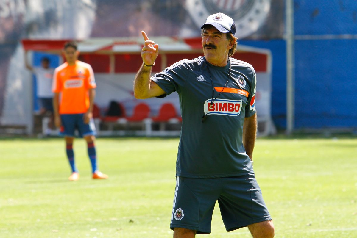Quiere ser rojiblanco: nieto de Ricardo La Volpe ya se prepara para jugar en Chivas