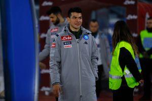 """""""Chucky"""" Lozano en más problemas: El DT del Napoli lo echó del entrenamiento"""
