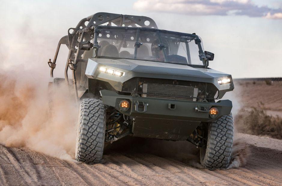Infantry Squad Vehicle, el flamante móvil militar construido por GM