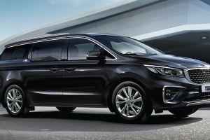 Kia comparte una imagen de la nueva Sedona, una minivan de diseño elegante y futurista