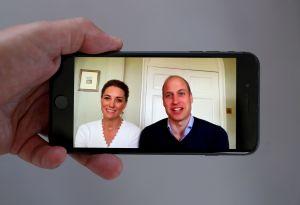 Mira a quién le hizo el príncipe Guillermo una videollamada muy especial