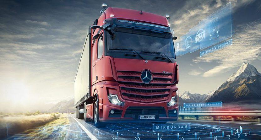 Mercedes-Benz Actros. Crédito: Cortesía Mercedes-Benz Trucks.