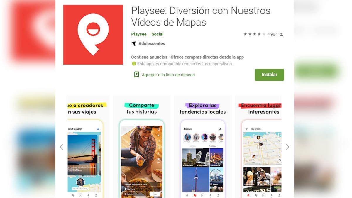 Playsee está disponible para iPhone y Android.