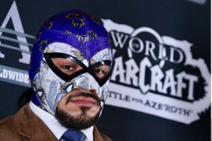 ¡Mostró su rostro! El Hijo del Fantasma se despojó de su máscara en la WWE y se cambió el nombre