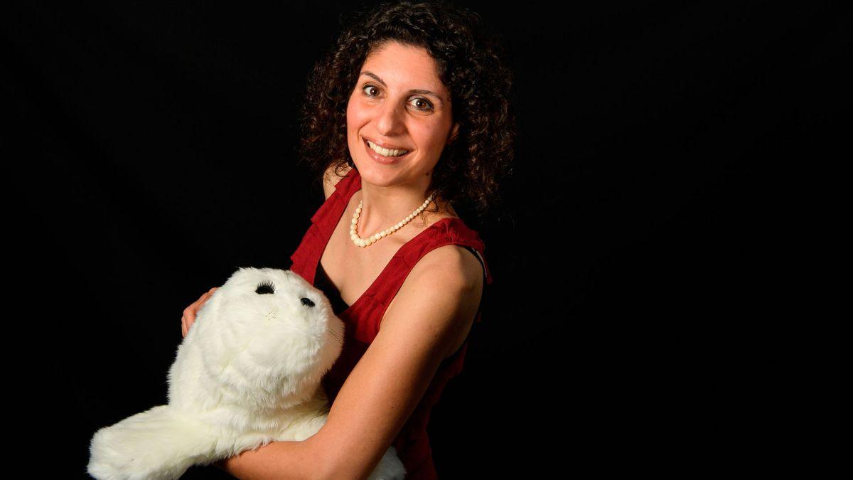 El robot PARO es de tamaño pequeño, con forma de peluche y de color blanco, produce sonidos similares a los de una foca.