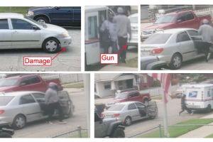 Ofrecen $50,000 de recompensa a quien ayude a identificar a los sujetos que intentaron robar a un camión de USPS