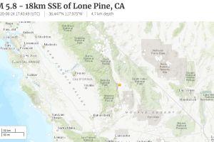 Sismo de 5.8 hace temblar a California