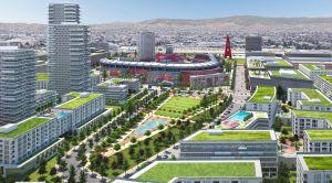 Anaheim presenta un plan de modernización en los alrededores del Angel Stadium