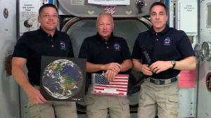 Astronautas que llegaron a la EEI con SpaceX destacan la suavidad del viaje