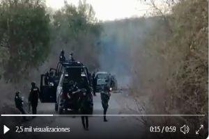 VIDEO: Sicarios del Cártel de Sinaloa atacan a soldados mexicanos