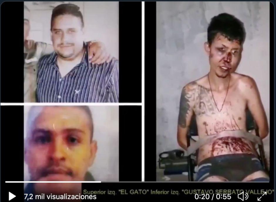 VIDEO: CJNG interroga tras dar paliza a joven; dice que autoridades apoyan a huachioleros