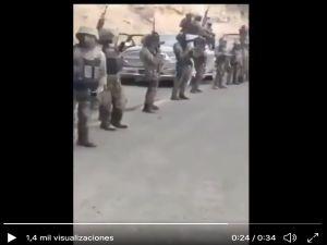 VIDEO: Ejército de sicarios se exhiben en Triángulo Dorado; Cártel del Escorpión se hacen llamar