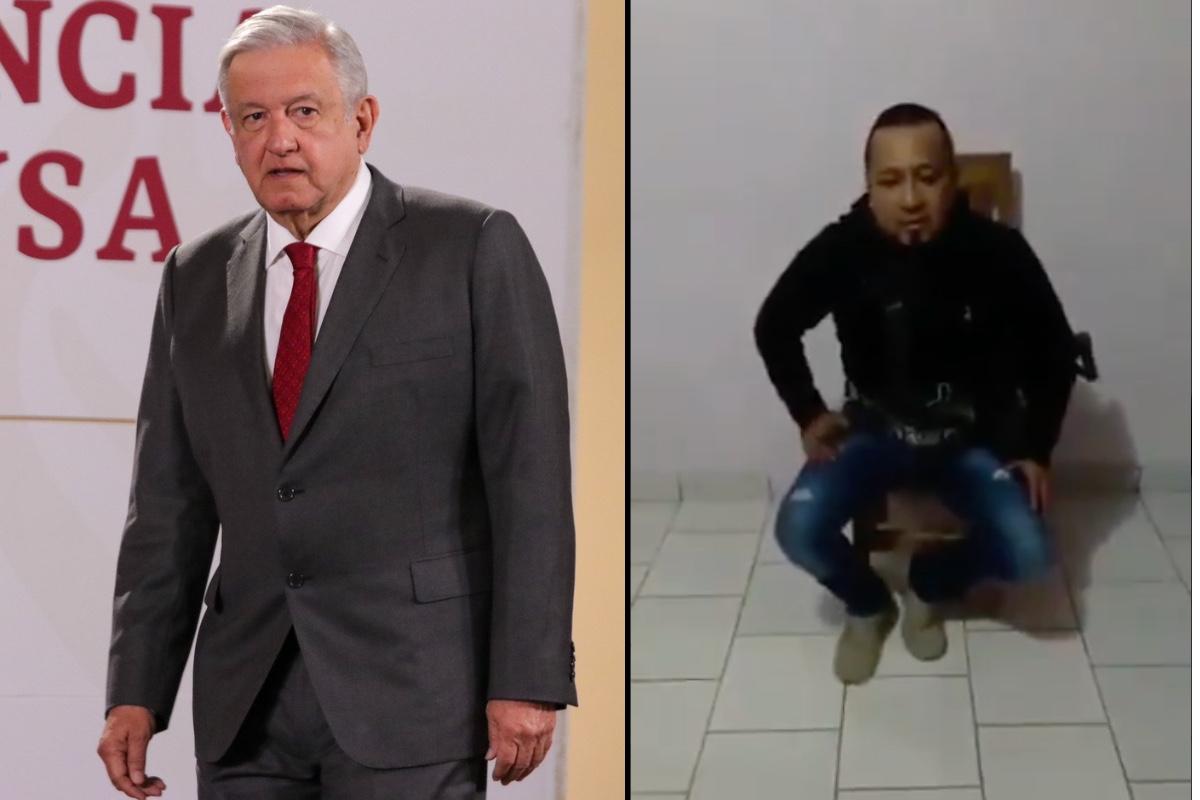 VIDEO: AMLO denuncia que el Marro, líder huachicolero que lo amenazó, fue exculpado de delito