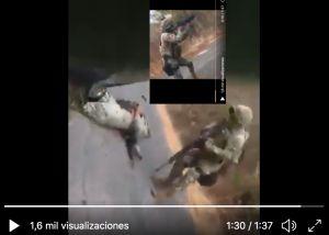 VIDEO: Narcos del CJNG mataron así a dos soldados mexicanos durante emboscada
