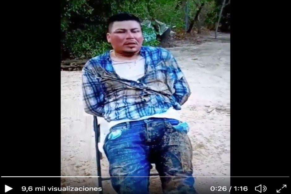 VIDEO: Tras golpearlo y torturarlo, sicarios del Mayo Zambada interrogan a uno de los Chapitos