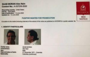 Sale avión hacia Miami con el colombiano Alex Saab, detenido por lavado de dinero y relacionado con Nicolás Maduro