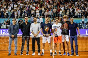 Alexander Zverev, tenista que estuvo en el Adria Tour, se va de fiesta pese a contagios de coronavirus