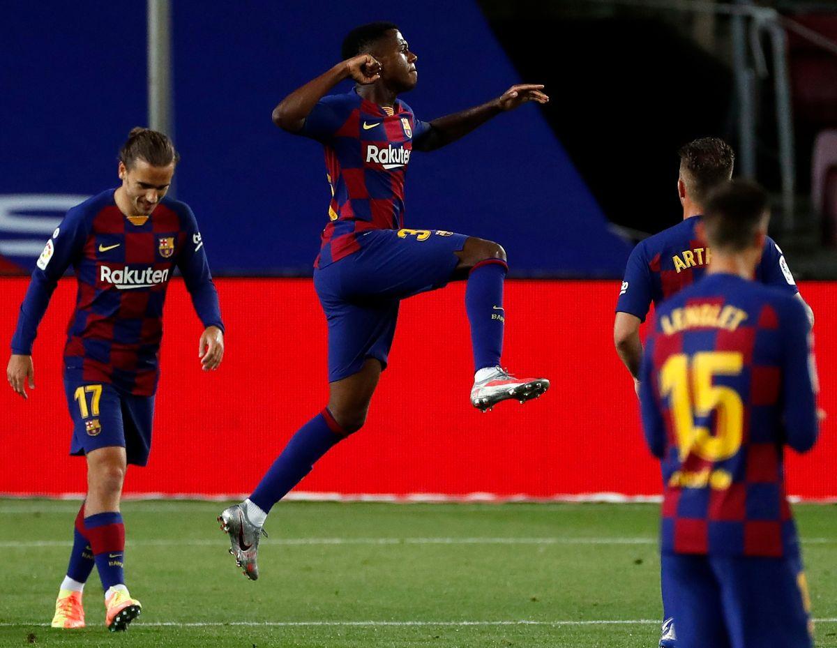 Ansu Fati es la nueva estrella del Barcelona, pero… ¿por qué nunca puede ser la figura del partido?