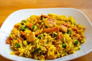 Cómo preparar el mejor arroz con pollo al curry