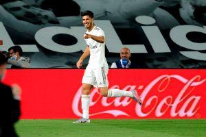 Un tiro y 30 segundos bastaron a Marco Asensio para anotar de nuevo con el Real Madrid