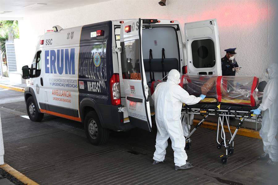 Aumentan las muertes por coronavirus en México.